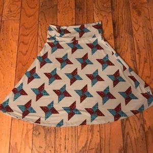 LuLaRoe Azure Simply Comfortable skirt